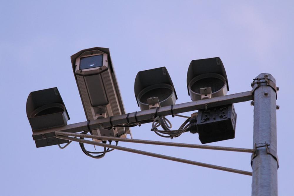 Фиксация нарушения ПДД камерой