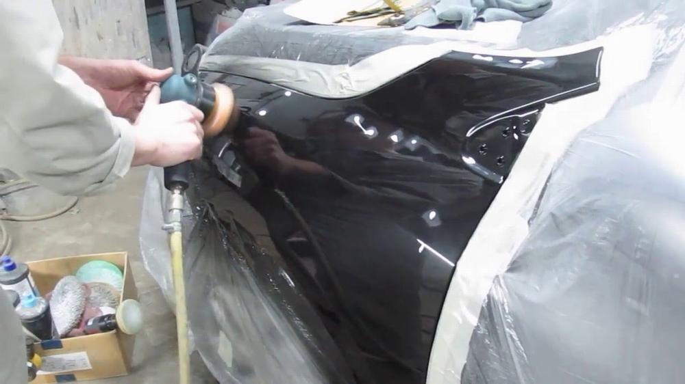 Локальная полировка автомобиля
