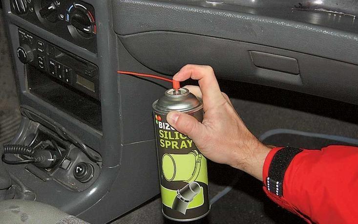 что сделать чтобы не скрипел пластик в авто Уфе