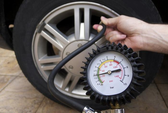 Давление в шинах автомобиля