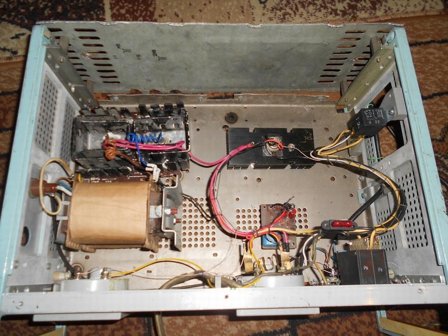 Самодельное зарядное устройство в сборе