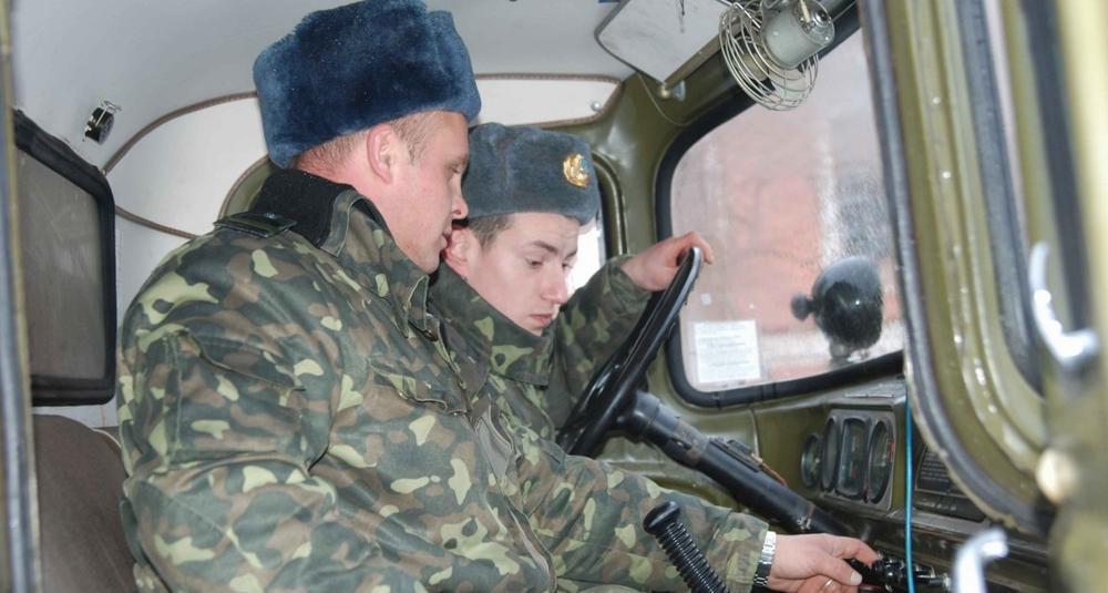 Получение прав от военкомата
