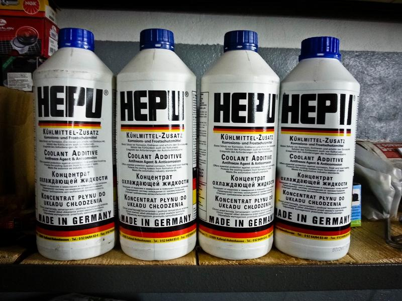 Концентрированный антифриз марки HEPU