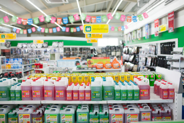 Охлаждающие жидкости в магазине