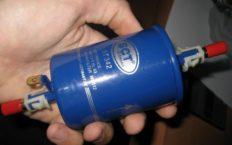 Интервал замены топливного фильтра
