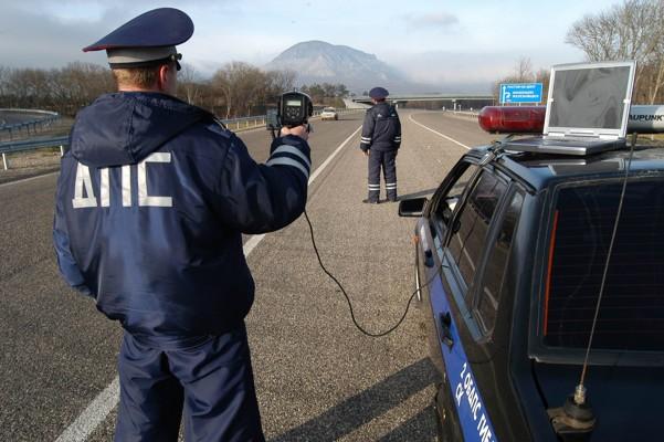 Фиксация нарушения ручным радаром