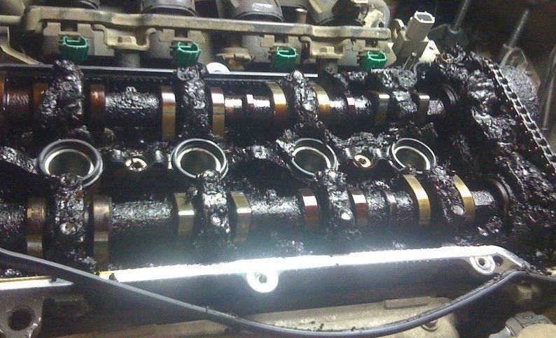 Закоксованный двигатель