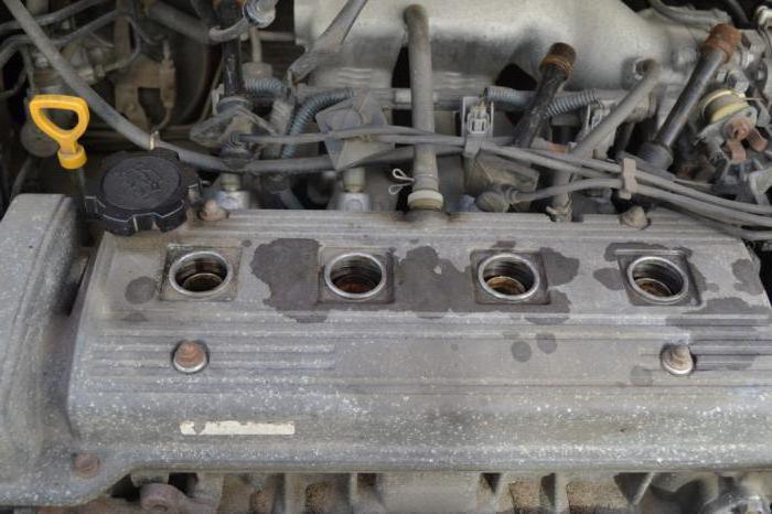 Четырехцилиндровый двигатель