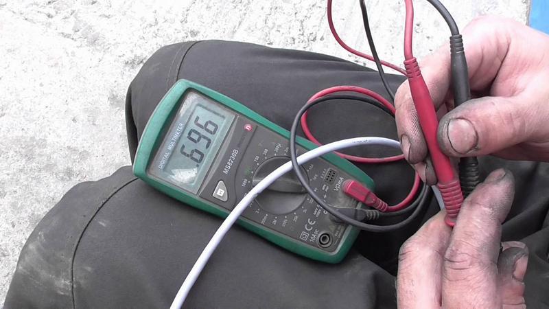Проверка ДПКВ мультиметром