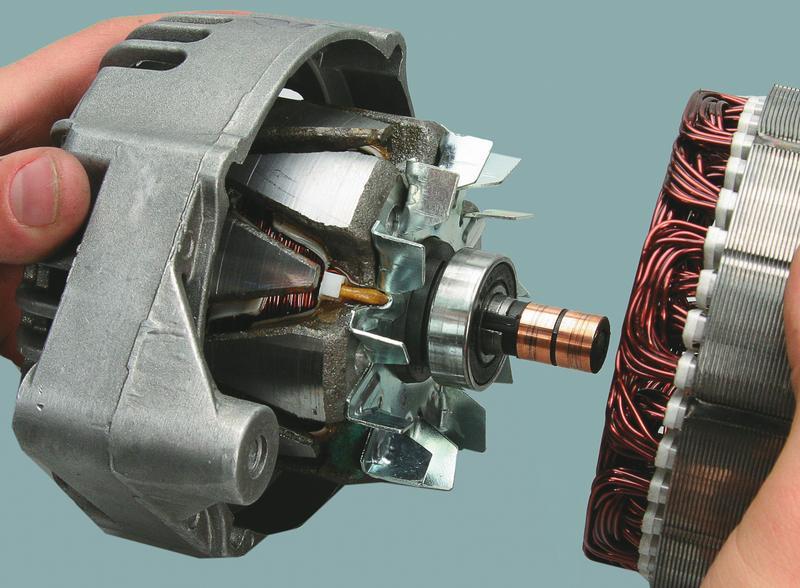 Демонтаж и разборка генератора