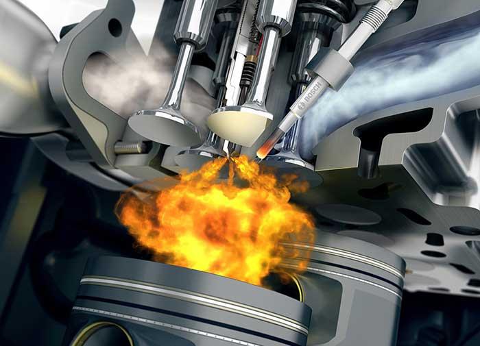 Воспламенение горючей смеси