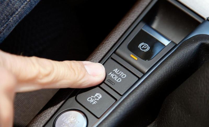 Кнопка электронного ручника