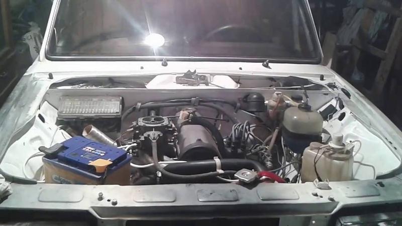 Первый запуск мотора после ремонта