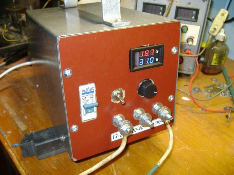 Мощное самодельное зарядное устройство