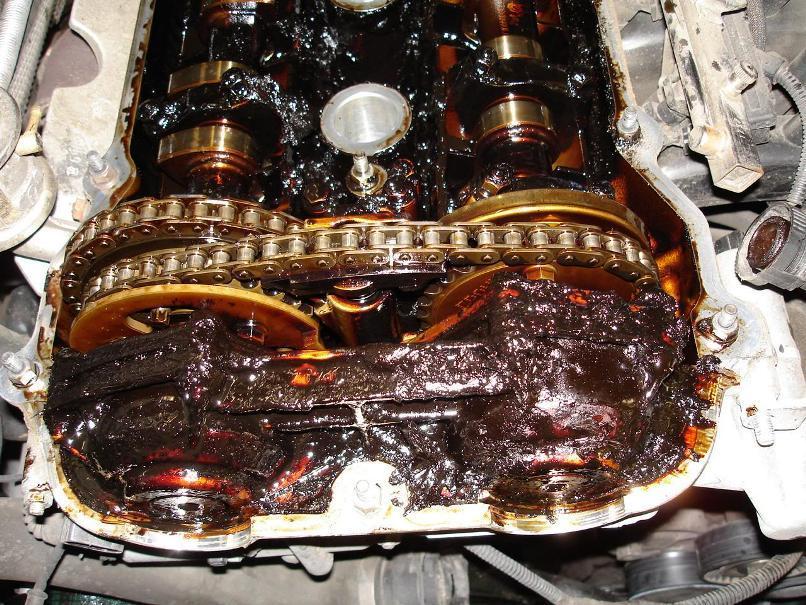 Изношенный мотор