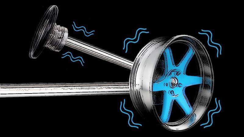 Передача вибрации от тормозного диска на руль