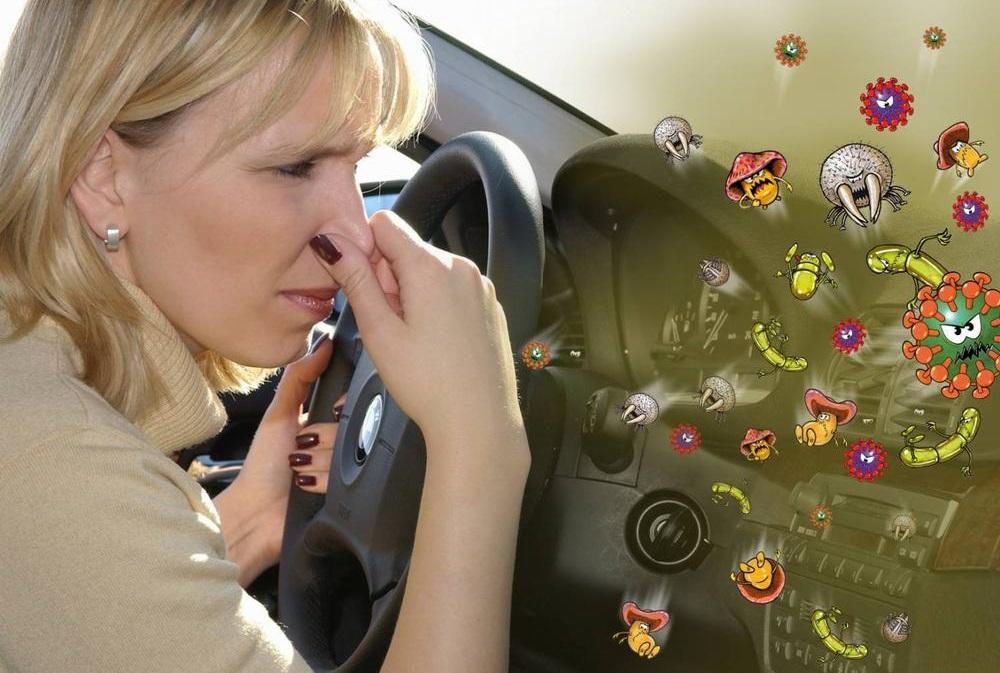 Дезинфекция кондиционера автомобиля своими руками