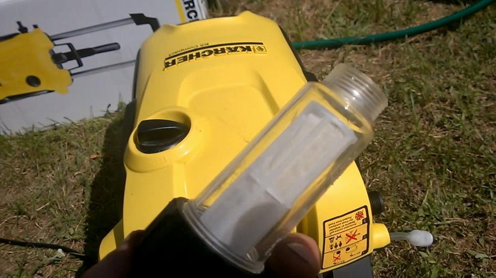 Фильтр очистки воды для минимойки