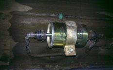 Забитый топливный фильтр