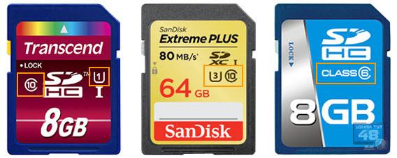 Типы карт памяти