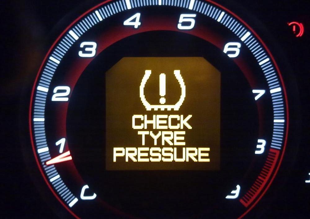 Предупреждение датчика давления