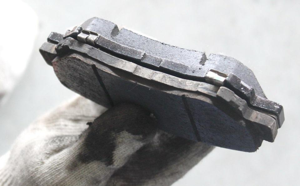 Самостоятельный контроль тормозных колодок