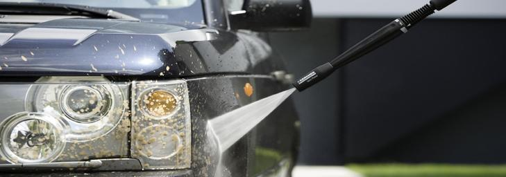 Подбор оптимального давления автомойки