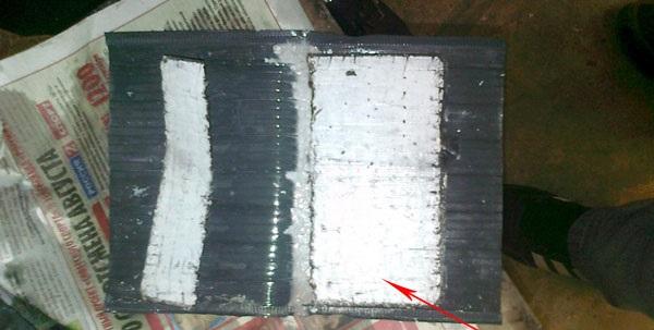 Сульфатирование пластин аккумулятора