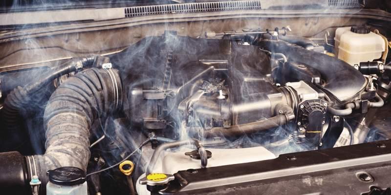 Нарушение работы системы охлаждения