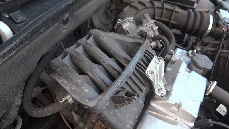 Тряска мотора на холостом ходу
