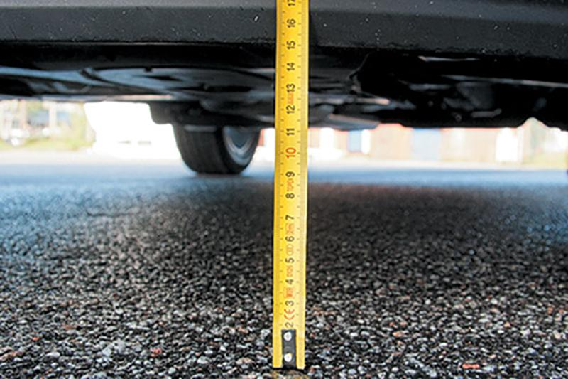 Измерение дорожного просвета