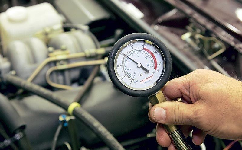 Замер компрессии на прогретом моторе
