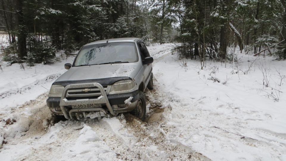 Преодоление снежных заносов