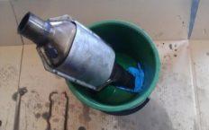 Чистка катализатора