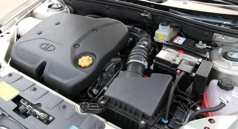 Двигатель внутреннего сгорания в составе автомобиля
