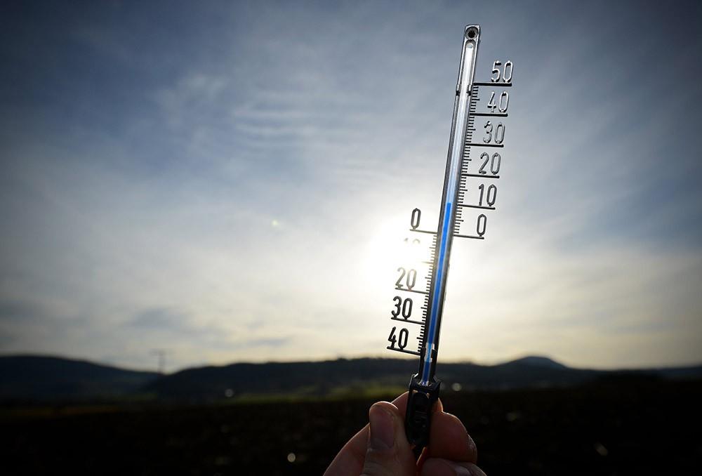 Температура +10 градусов Цельсия