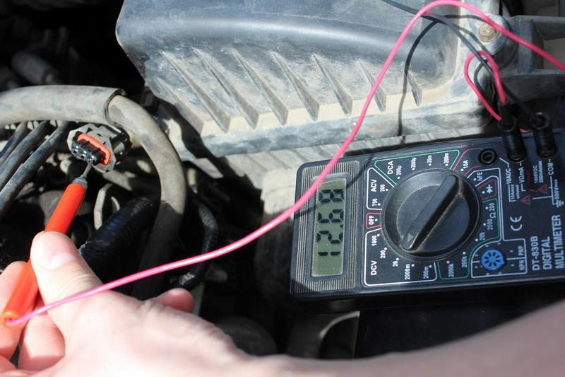 Проверка ДПВР мультиметром