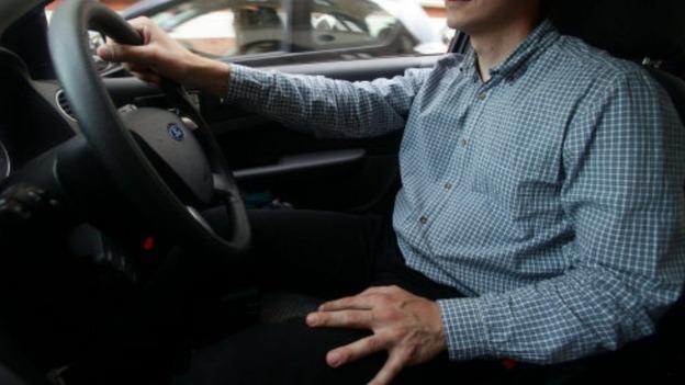 Не пристегнутый водитель