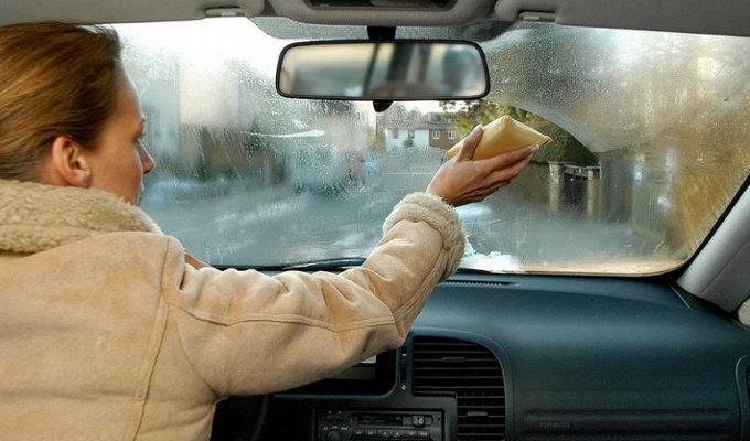 zapotevayut stekla gubka - Что делать когда потеют окна в машине