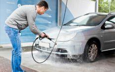 Как мыть машину на мойке самообслуживания