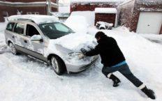 Не заводится машина в мороз