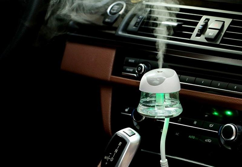 Увлажнение воздуха в салоне автомобиля