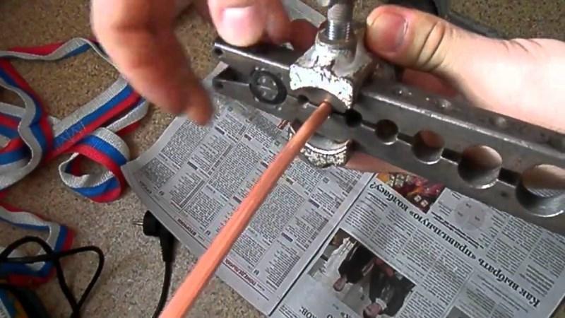Процесс развальцовки