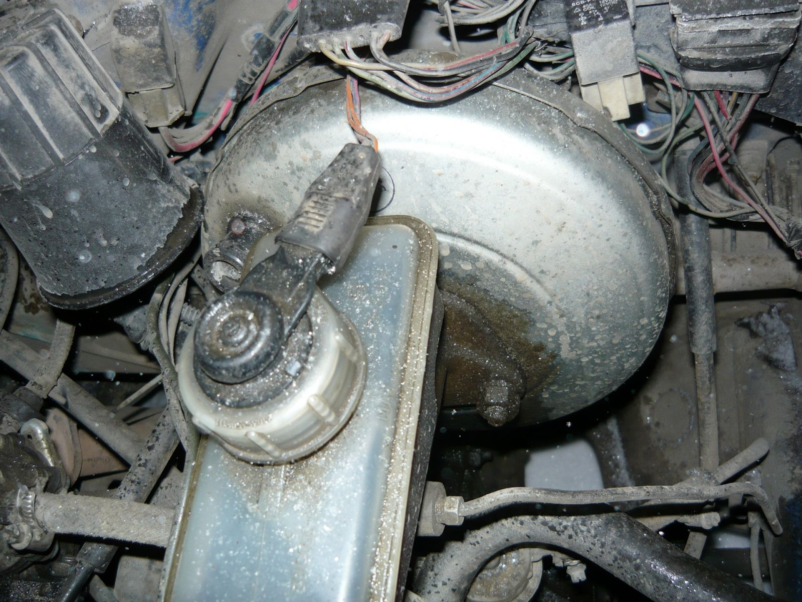 Неисправен тормозной цилиндр