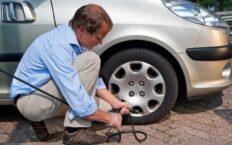как накачать колесо без насоса