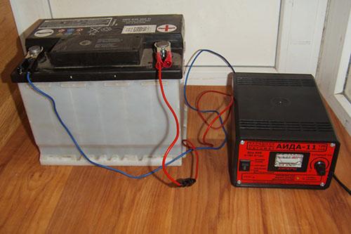Кипение электролита