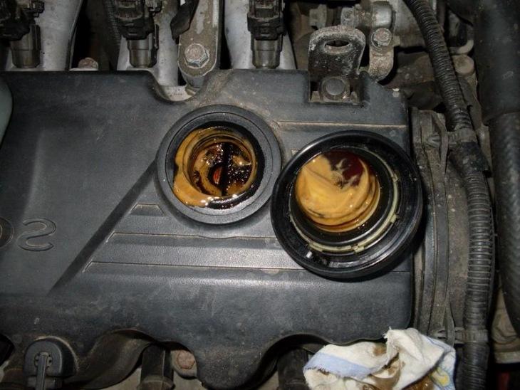 Двигатель с эмульсией
