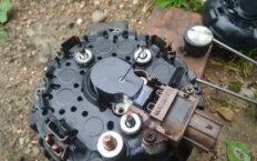 Замена щеток генератора