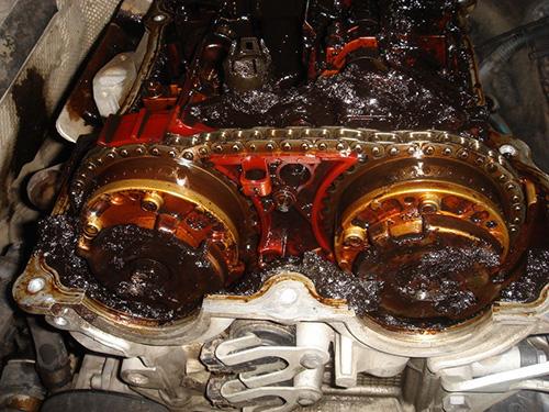 Отложения на двигателе