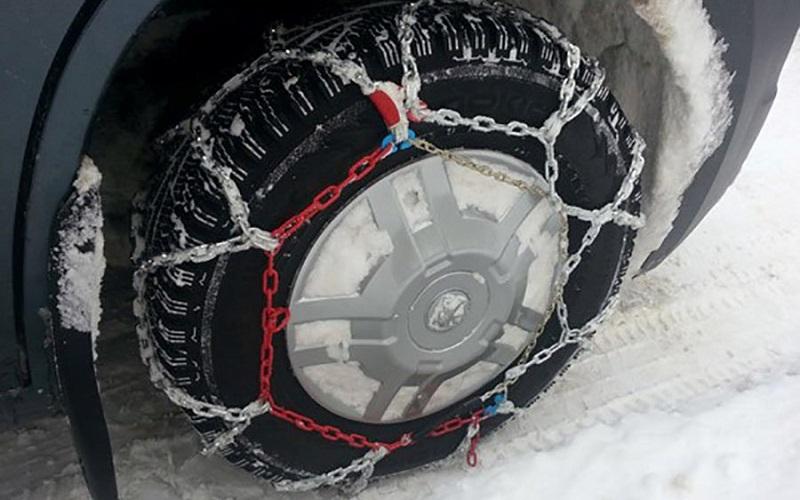 Как изготовить цепи на колесо